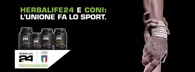 Herbalife24 CONI Comitato olimpico Italiano
